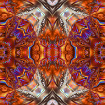 Feathers wild kaleidoscope