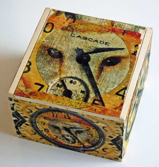 Pocketwatch owl box