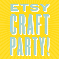 etsy craft party logo
