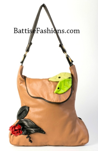 Michele Battise leather purse