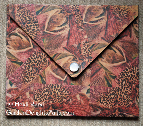 Kraft tex envelope purse